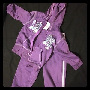 Other - Toddler girl sweatsuit